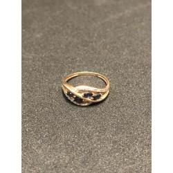Kuld sõrmus teemantidega...